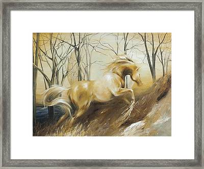 Framed Print featuring the painting Ascension by Dina Dargo