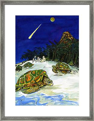 Ascension Island Framed Print by Adam Robertson