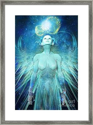 Ascension Framed Print by John Edwards