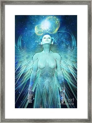 Ascension Framed Print by John Edwards