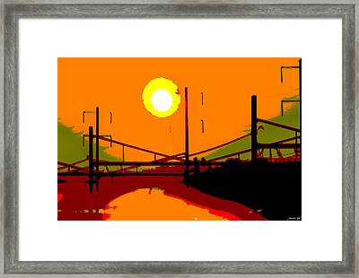 Framed Print featuring the photograph Ascent by JoAnn Lense