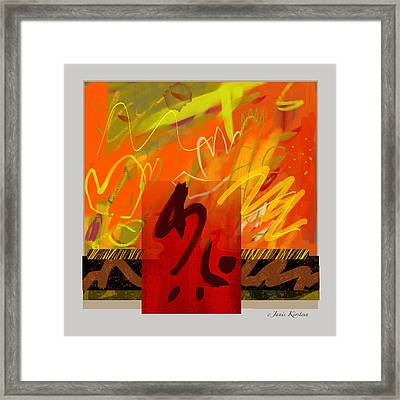 Ascention Framed Print