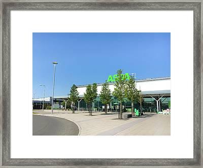 Asda Store Framed Print by Tom Gowanlock