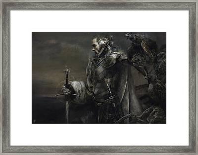 Ash King Framed Print