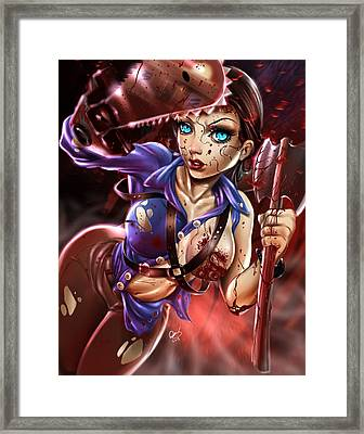 Ash Vs Evil Dead Framed Print by Pete Tapang
