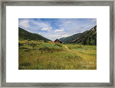 Ashcroft Ghost Town Photo Four Framed Print