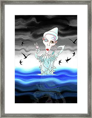 Ashes To Ashes Framed Print by Andrew Hitchen