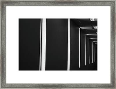 Asheville Abstract  Framed Print by Gray  Artus