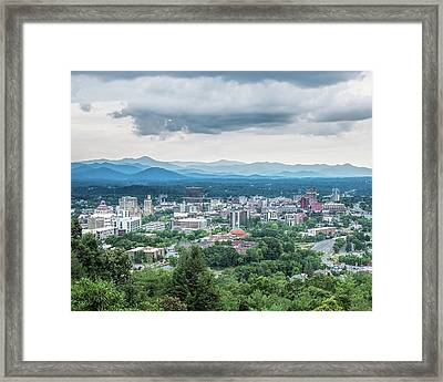 Framed Print featuring the photograph Asheville Afternoon Cropped by Jemmy Archer