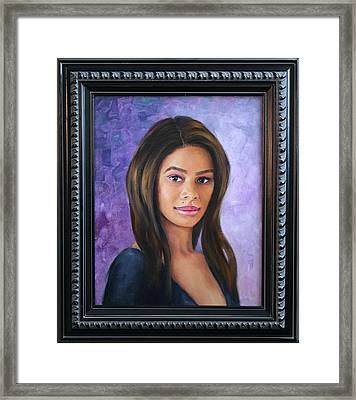 Ashly Ann Framed Print by Richard Barone
