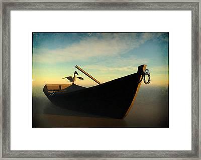 Ashore... Framed Print