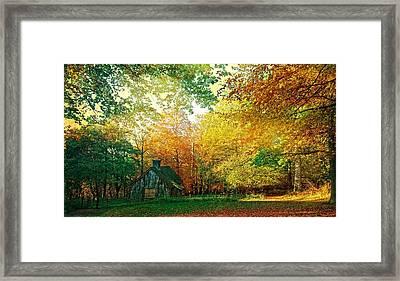 Ashridge Autumn Framed Print