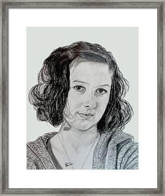 Ashton Framed Print by Stan Hamilton