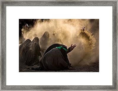 Ashura Pm2 Framed Print by Mohammadreza Momeni