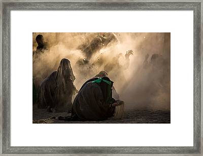 Ashura Pm3 Framed Print by Mohammadreza Momeni