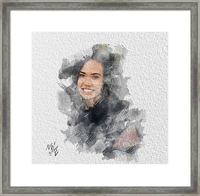Asiah Framed Print