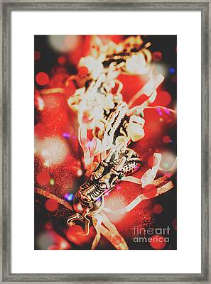 Asian Dragon Festival Framed Print by Jorgo Photography - Wall Art Gallery