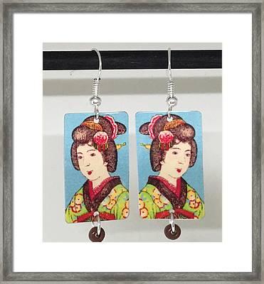 Asian Girl Framed Print by Patti Siehien