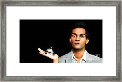 Asian Hotel Bellboy Framed Print by Jorgo Photography - Wall Art Gallery
