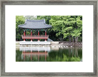 Asian Theater Framed Print