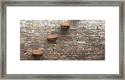 Asian Wall Framed Print by Linda Parker