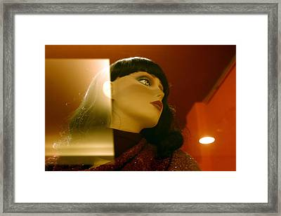 Ask Me To Framed Print by Jez C Self