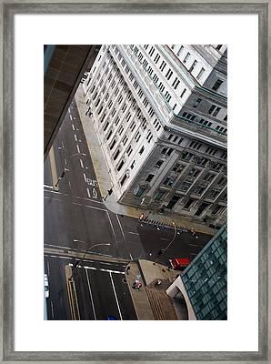 Askew View Framed Print by Lisa Knechtel