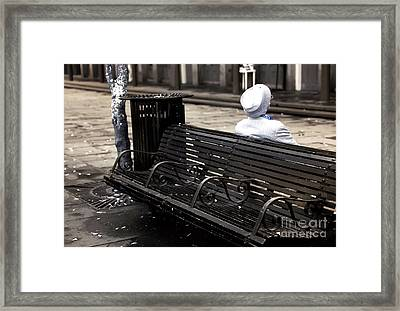 Asleep In New Orleans Infrared Framed Print by John Rizzuto