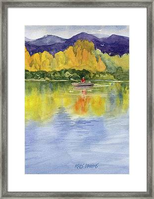 Aspen Afternoon Framed Print by Kris Parins