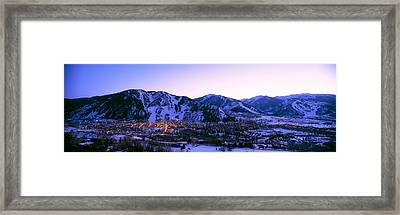 Aspen, Colorado, Usa Framed Print by Panoramic Images