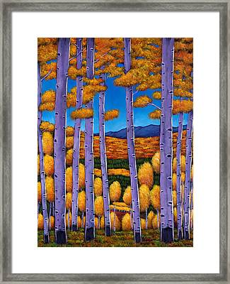 Aspen Country II Framed Print by Johnathan Harris