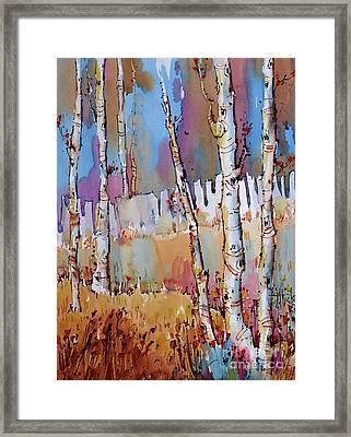 Aspen Fantasy Framed Print
