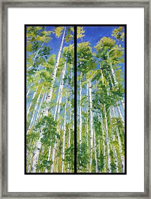 Aspen Twin Perspectives Framed Print