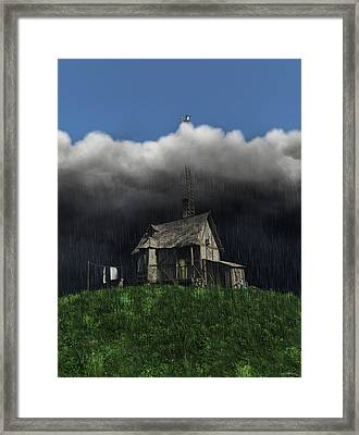 Aspirations Framed Print by Cynthia Decker