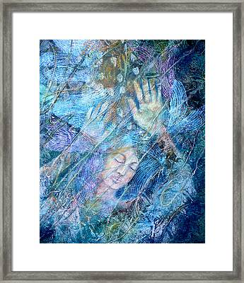 Assailed By Confusion Framed Print by Sue Reed