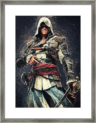Assassin's Creed - Edward Kenway Framed Print