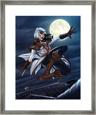 Assassin's Creed Framed Print by Pete Tapang