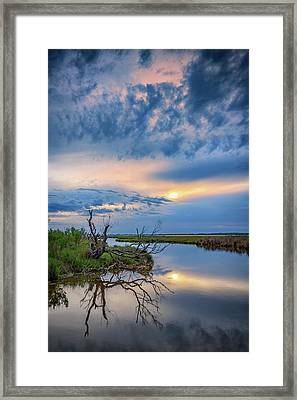 Assateague Dusk Framed Print