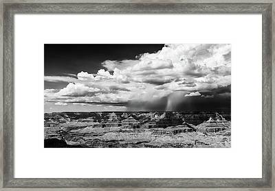 Assault On The North Rim Framed Print by Jay Beckman