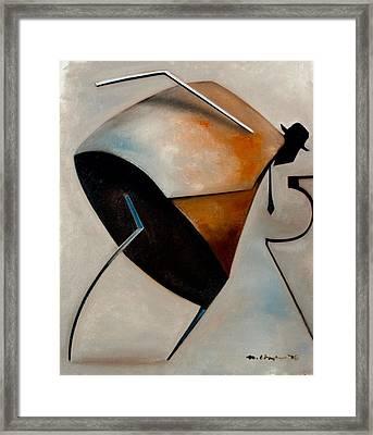 Assemblage / Swing Framed Print by Martel Chapman