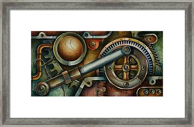 'assembled' Framed Print by Michael Lang