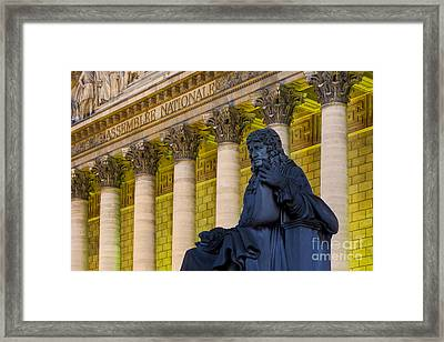 Assemblee Nationale - Paris Framed Print