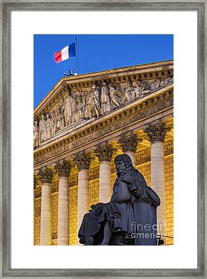 Assemblee Nationale - Paris II Framed Print