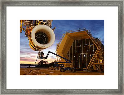 Assembling An Energy Efficient Jet Framed Print by Tyrone Turner