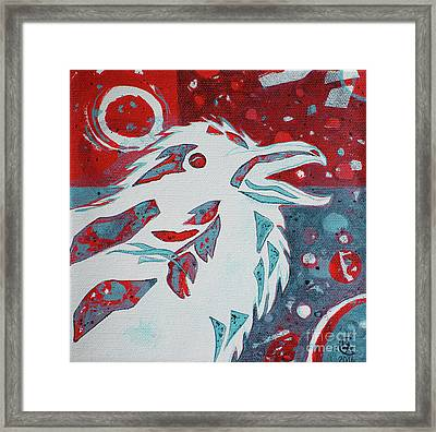 Assertion Framed Print