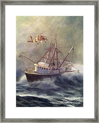 Framed Print featuring the painting Assessment by Stephen Roberson
