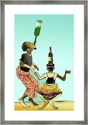 Assiko Dance Cameroon 01 Framed Print