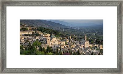 Assisi Pano Framed Print
