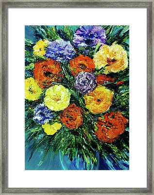 Assorted Flowers #191 Framed Print by Donald k Hall