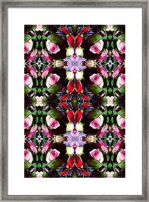 Assortment Of Flower  Framed Print